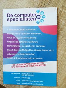 flyer de computerspecialisten