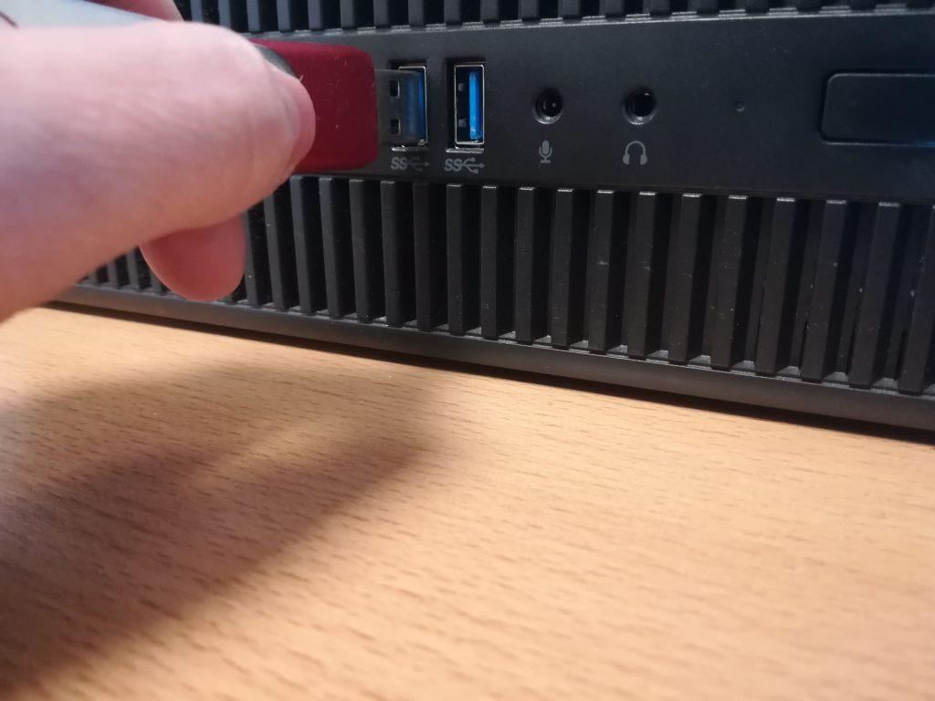 Veilig USB opslagmedia verwijderen