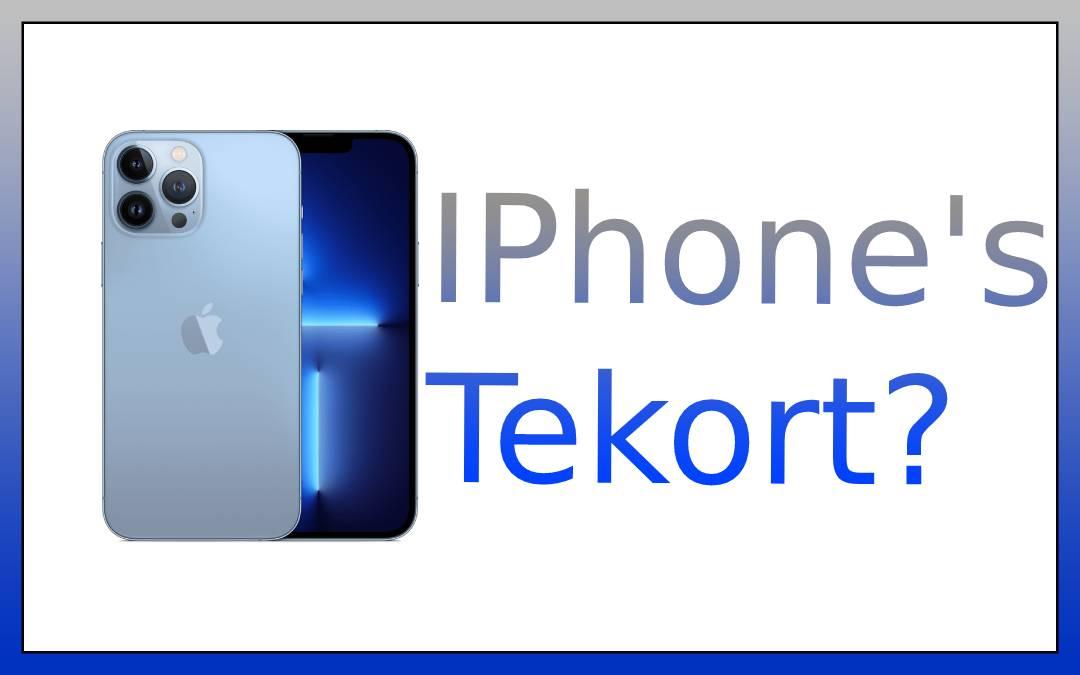 iPhone 13 tekort?